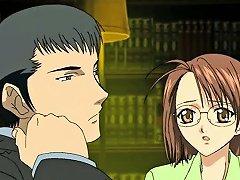 Anime Lesbos Pleasuring With Dildos