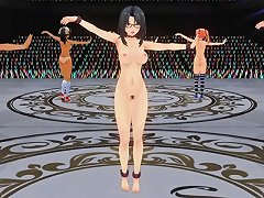 Mmd Girls Dance Melody Of Empire