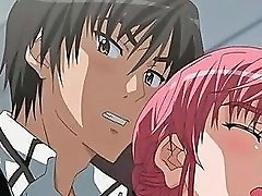 Sensual Anime School Babe Giving Her Coed A Boner Video